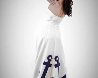 Anchor wedding dress BY TiCCi Rockabilly Clothing