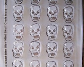 Fineley Detailed Bite Size Mini Sugar Skull Molds/Candy Molds - Day of the Dead