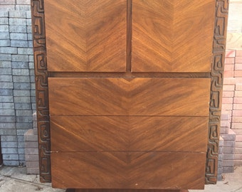 Brulatist Tall Chest Armoire United Furniture Company