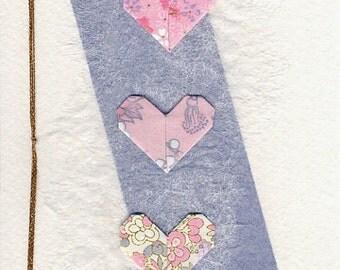 Origami Card for Valentine's Day 折り紙カード by Orijuju