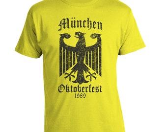 Oktoberfest Tshirt, Octoberfest Shirt, Craft Beer, German, Germany, Bier, Vintage Munich Beer Shirt