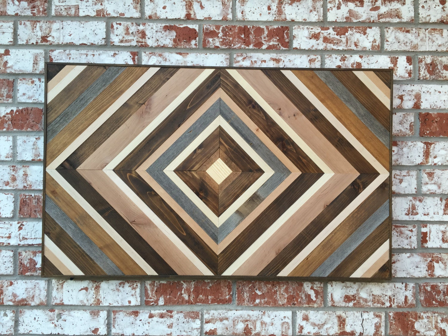 chevron wood wall art wood art sculpture reclaimed wood