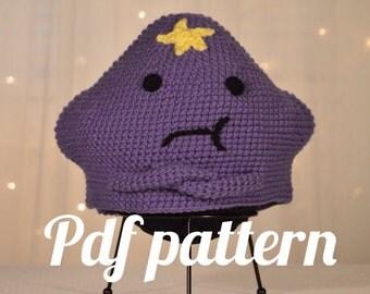 Lumpy Space Princess Hat Crochet Pattern