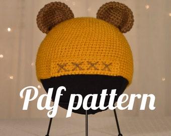 Ewok Hat Crochet Pattern