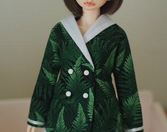 Sailor collar jacket  for MSD , 1/4 doll , Luts, Blue Fairy, Daydream, Volks or similar size doll