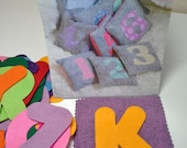 DIY Alphabet Number Kit, Child Educational Tools, Counting Bags