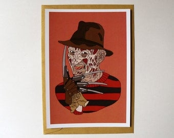 Card // Freddy Krueger