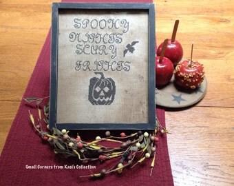 Primitive Halloween sampler