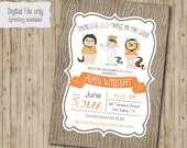 Where The Wild Things Are Baby Shower Invitation, Wild Things Baby Shower, Wild Rumpus Invitation, King of all Wild things Invite