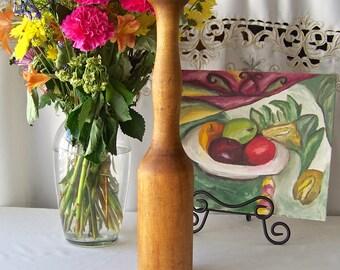 Vintage Potato Masher Kitchen Decor Rustic Decor Kitchen Utensil Decor Wooden Potato Masher Vintage 1930s