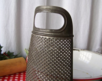 Vintage Cheese Grater Zester Half Round Kitchen Decor Vintage 1960s Ready To Hang