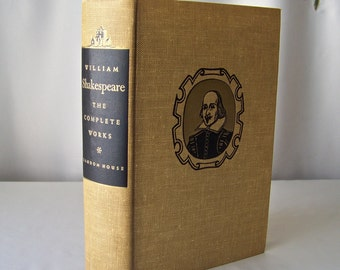 Vintage William Shakespeare The Complete Works 1952 Plays And Poems Romeo And Juliet Antony And Cleopatra The Tempest