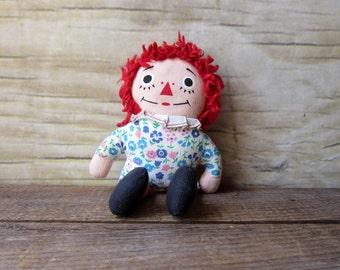 Vintage Raggedy Ann Doll  Vintage Nursery Decor Vintage Baby Decor