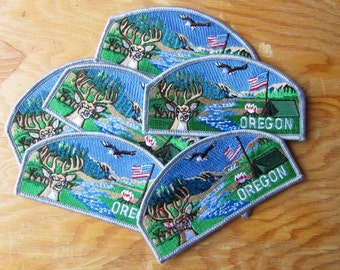 Vintage Oregon Patch - Northwest - OR