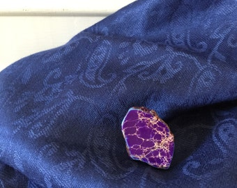 Purple Jasper Ring by ChoklatTea