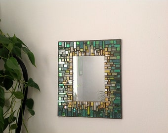 Green Mosaic Frame
