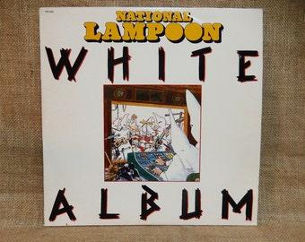 National Lampoon - White Album - 1980 Vintage Vinyl Record Album