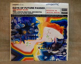The Moody Blues - Days of Future Passed - 1967 Vintage Vinyl Record Album