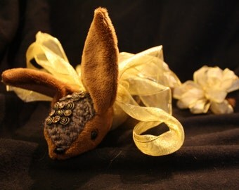 Jewel-Covered Armadillo Plushie