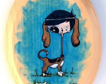 Bojangles - Original Acrylic Painting