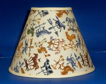Weathervane Lamp Shade