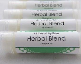 All Natural Lip Balm - Herbal Blend