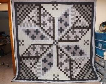 Queen star quilt