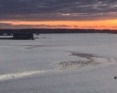 Undercurrents Casco Bay,  My City By The Bay, The Maine Winter View, SPECIALIZING in CUSTOM ORDERS