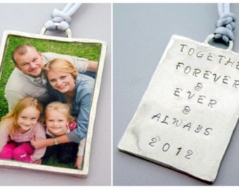 Photo ornament rectangle  Etsy