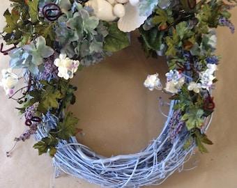 Blue Beach Wreath