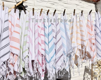 Turkishtowel-Soft-Hand woven,warp&weft cotton Hand,Tea,DishTowel-Twill pattern,You can chooise color