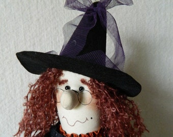 Halloween Witch Doll ~ Reneta  Witch  with an Attitude ~ 26 Inches tall