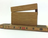 White Oak Business Card Holder