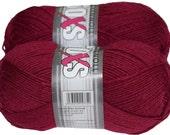 Solid Soxs 100gr German self striping superwash sock yarn Grundl, color Vine