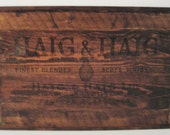 Haig and Haig Scotch Whisky Serving Tray