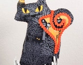 Fraidy Cat Halloween Plush Haunted Forest of Owls