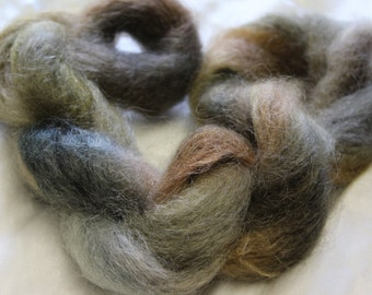 Kool Kid brushed mohair yarn hand dyed 1 ply
