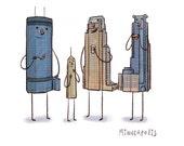 Minneapolis Skyline- art print