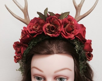 Fall Forest Headpiece