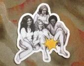 Vagina Party Sticker