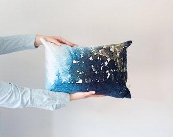 "Kananaskis Trees 14x20"" Art Pillow"