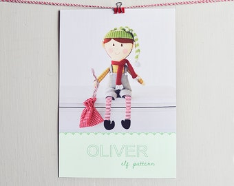 Oliver elf pdf pattern/tutorial