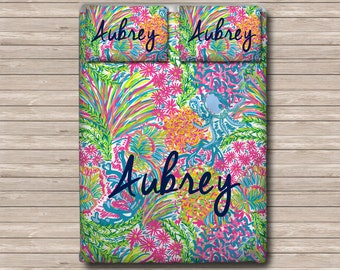 Lilly Pulitzer Bedding Etsy