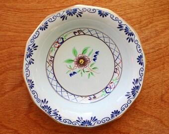 Vintage Adams Calyx Ware Bowl - English Fruit Bowl - Hand Painted Ceramic Bowl