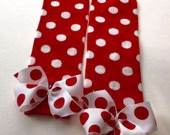 Christmas leg Warmers - Leggings- Infant Leggings - Toddler Leg Warmers