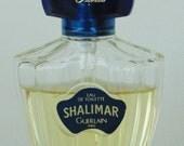 SHALIMAR Eau De Toilette Spray By Guerlain Paris 1 Ounce 2/3 Full