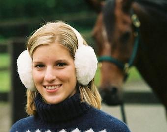 Luxurious Merino Shearling Earmuffs