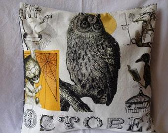 October Owl Pillow Cover