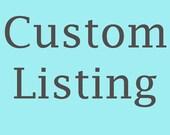 Custom Listing - Bubble Guppy Cake Topper