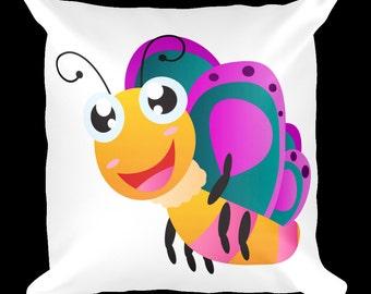 Butterfly 4 Designer Throw Pillow